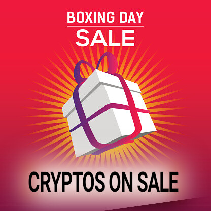 boxing day crypto sale