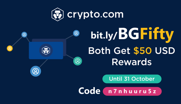 Crypto.com BG50 Referral Program