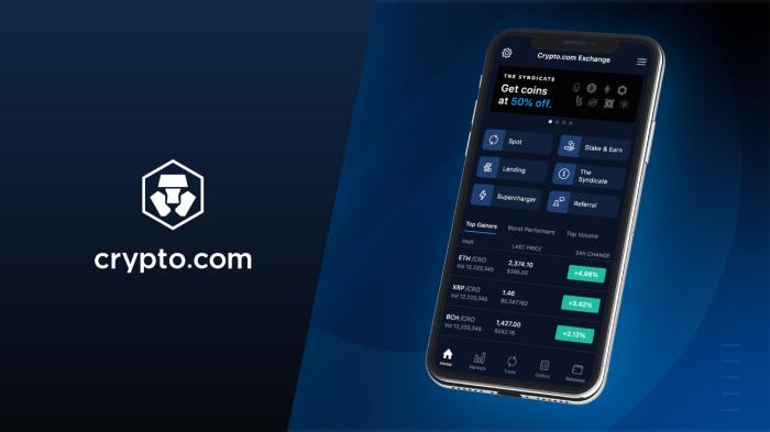 Crypto.com Exchange App