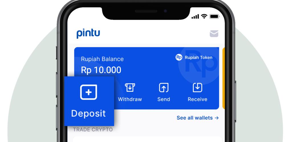 image of Pintu's deposit button