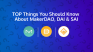 TOP Things You Should Know About MakerDAO, DAI & SAI