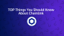 Top Things You Should Know About Chainlink (LINK)