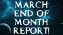 My Posting and Earning and Events for MARCH.