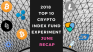 EXPERIMENT - Tracking Top 10 Cryptos of 2018 - Month Thirty - Down -81%