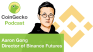CoinGecko Podcast Ep. 4 - Interview with Aaron Gong, Director of Binance Futures