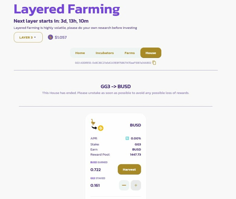 layer3 goose finance