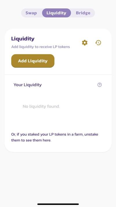 add liquidity in goose finance