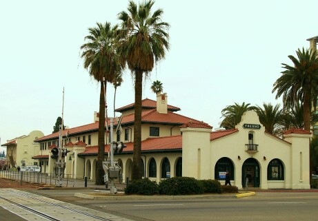 Fresno Train Station