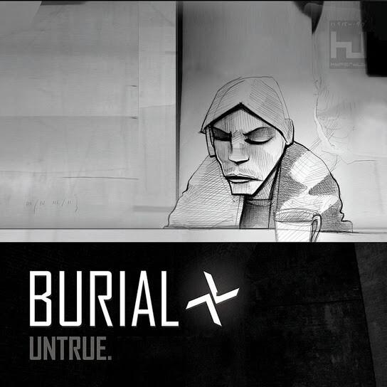 Burial - Untrue, album art.