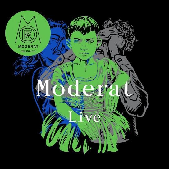 Moderat - Live, ablum art.