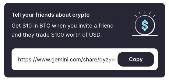 Gemini referral system