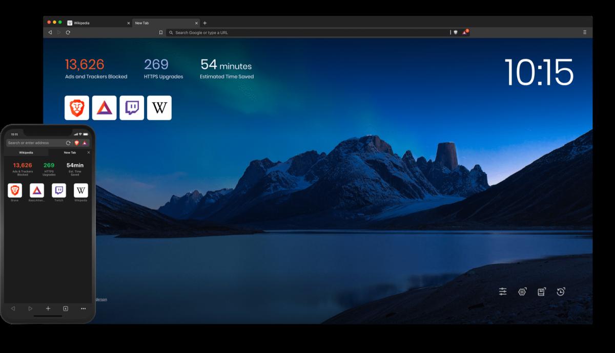 image of Brave Browser screencap