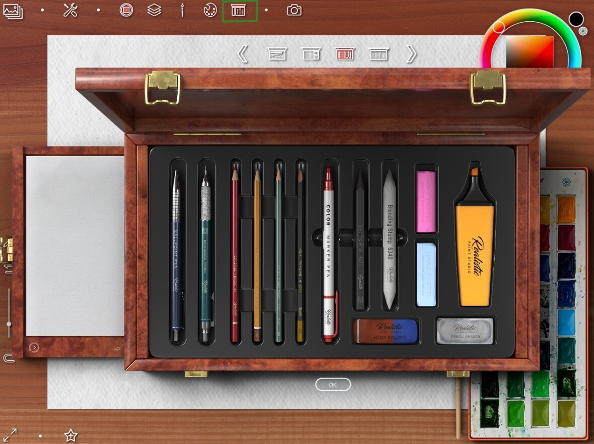 Sketch tool set