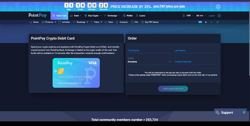 PointPay Visa crd