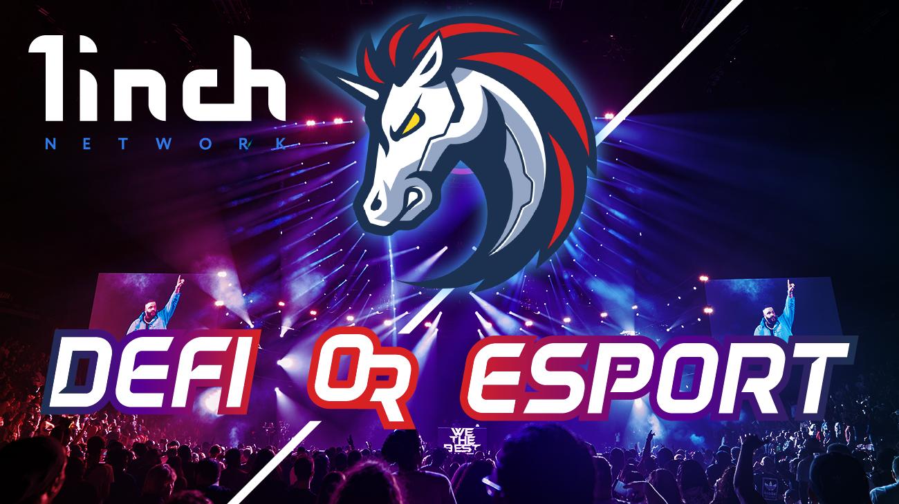 1inch Defi or Esport logo