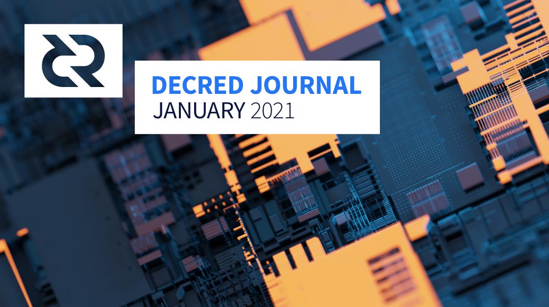 Decred Journal - January 2021