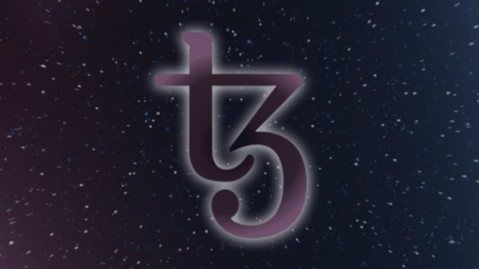 Stylized Tezos logo