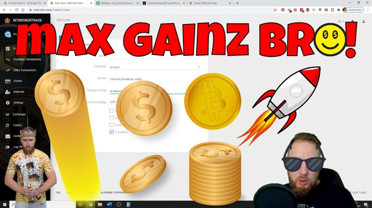 Bitbrokertrade: How to Optimize Crypto Trading Bot for Maximum Gains 💸💸