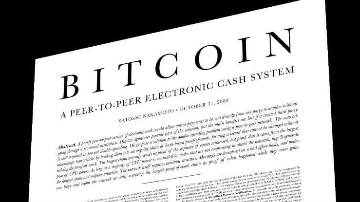Bitcoin Whitepaper Summary