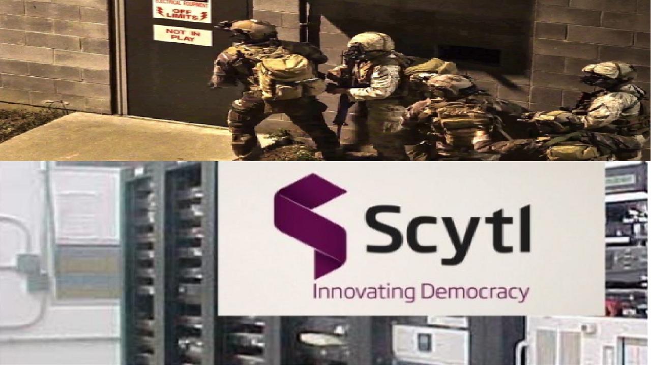US Army Raids Voting Machine Company Scytl