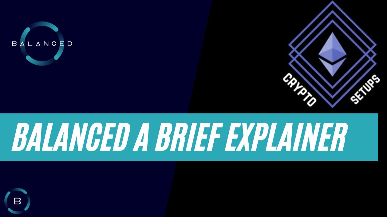 Balanced a brief explainer