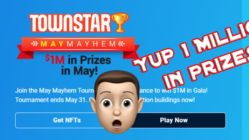 Town Star Giving Away 1 Million In May!!