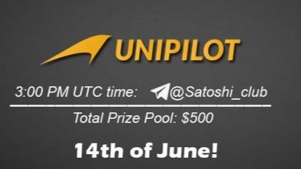 Unipilot protocol x Satoshi CLUB AMA Session 12 Jun2021