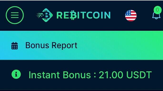 Rebitcoin bonus