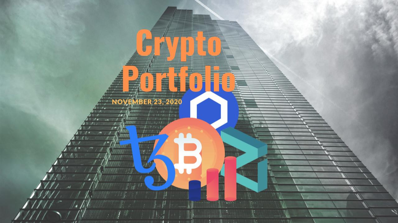 Image of thumbnail for November 23, 2020 Crypto Portfolio Update