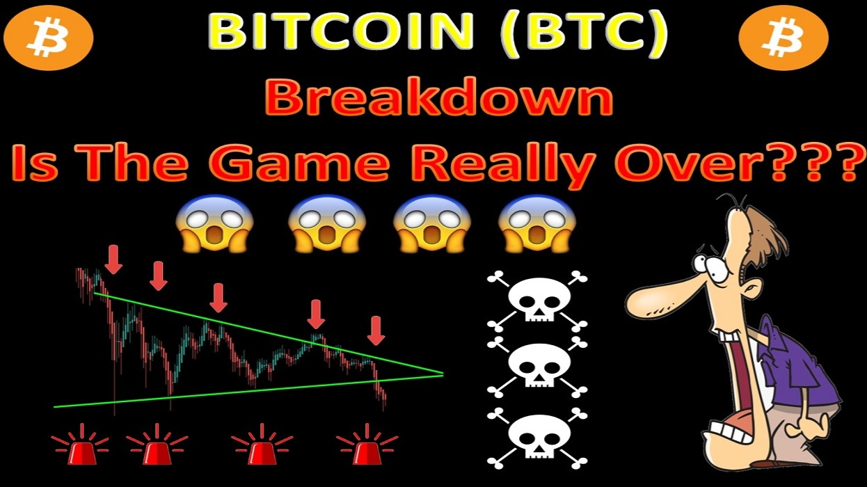 BITCOIN (BTC ) Breakdown Is The Game Really Over???