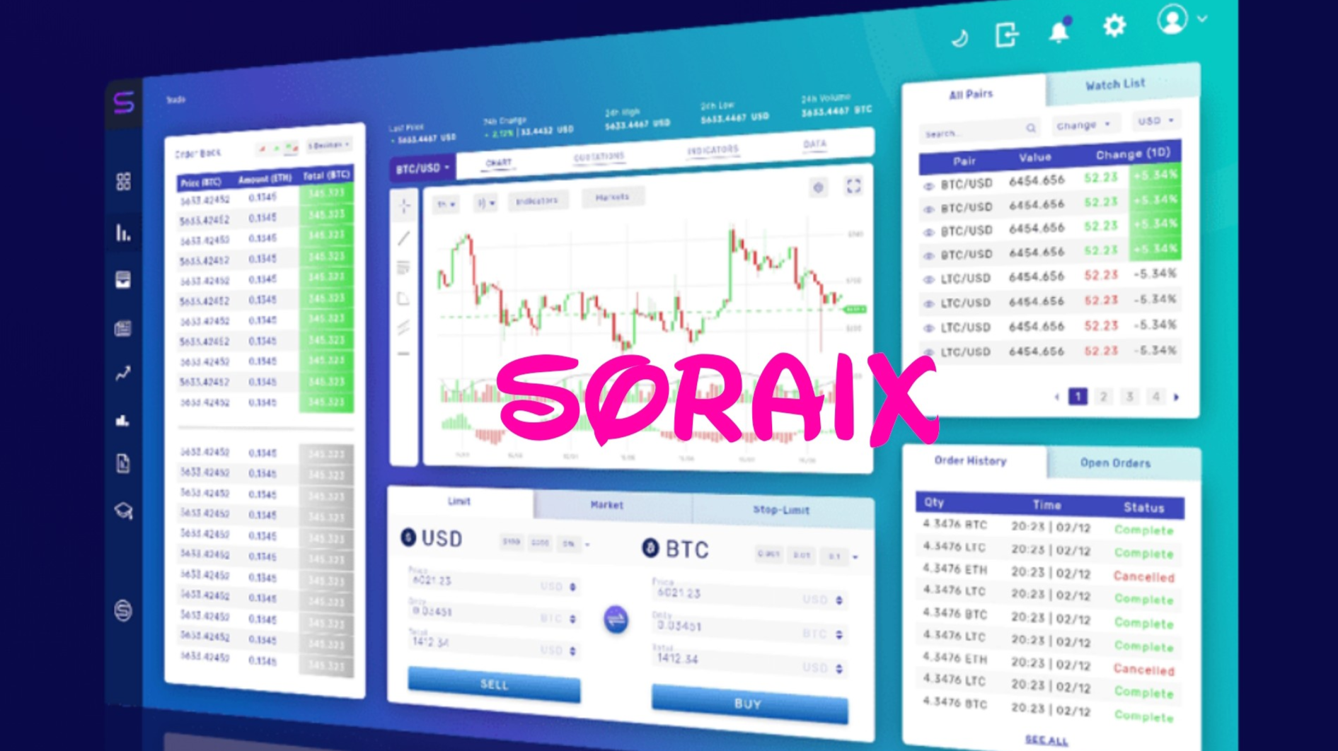 SORAIX PROJECT - ADVANCED CRYPTOCURRENCY TRADING AND EQUITY PLATFORM