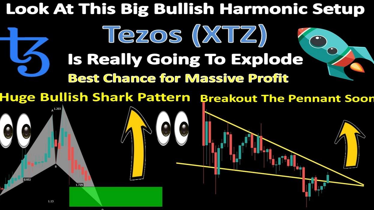 Look At This Big Bullish Harmonic Setup | Tezos (XTZ) Is Really Going To Explode