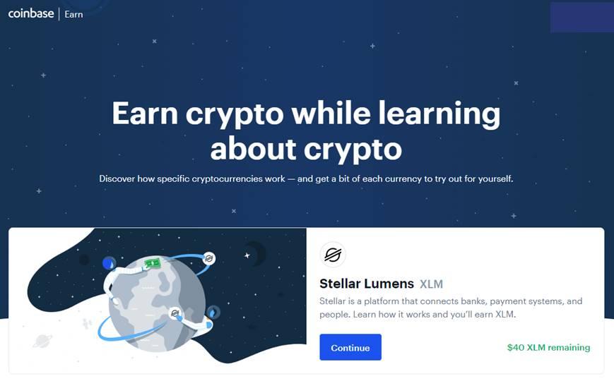 earn crypto coinbase