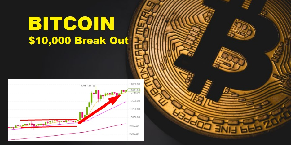Bitcoin's Break Out To $10,000 USD Value - What's Next For The Mother Of All Crypto?