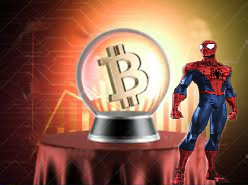 The Arachnid used its super power to forecast the rise and fall of bitcoin?