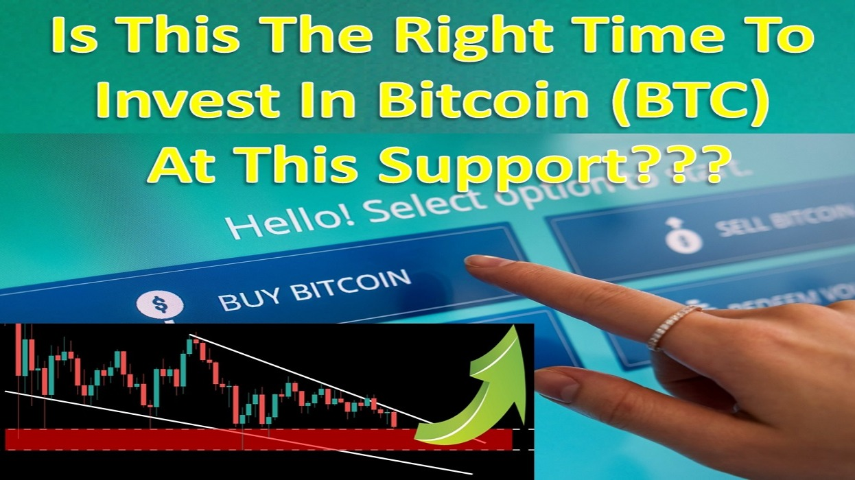Is This The Right Time To Invest In Bitcoin (BTC) At This Support???