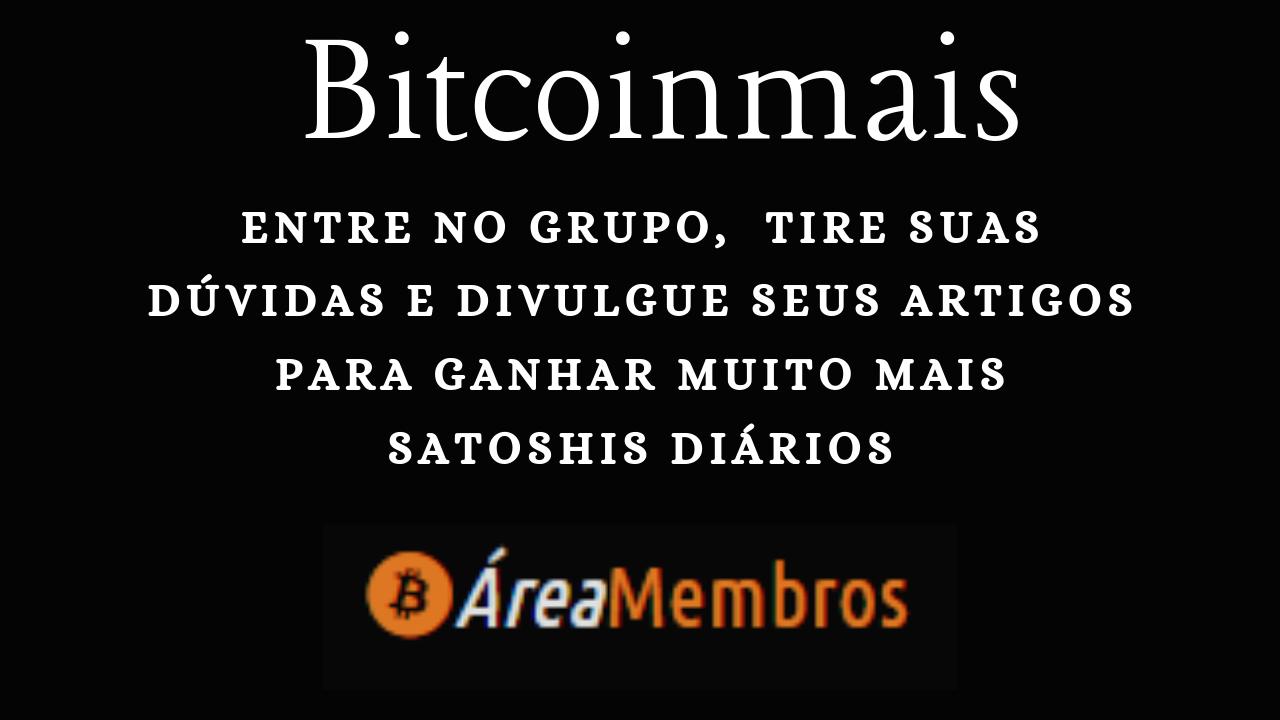 Bitcoinmais Como Divulgar as Postagens  e Ganhar Mais Satoshis Rapidamente