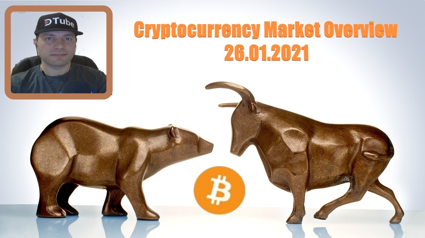 🎥 My Cryptocurrency Market Overview | 26.01.2021