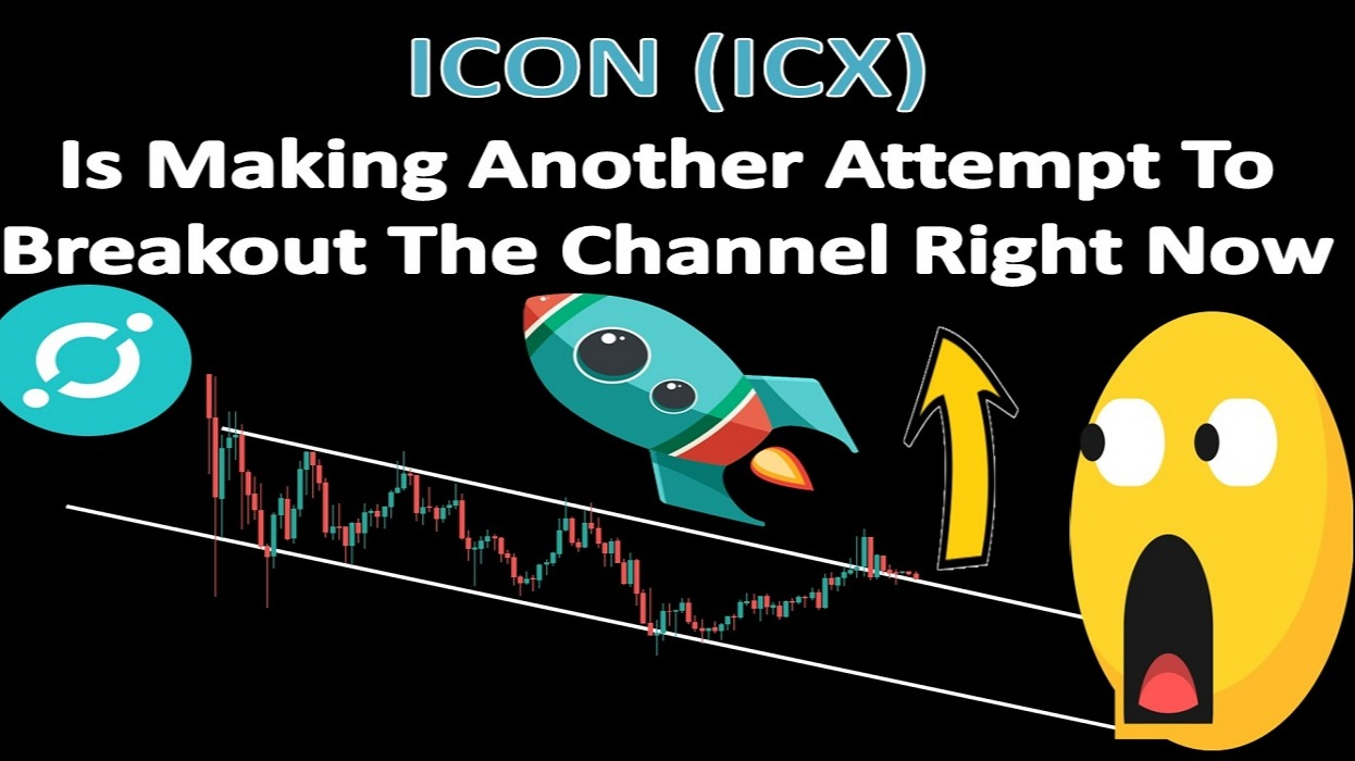 ICON (ICX) Is Making Another Attempt To Breakout The Channel Right Now