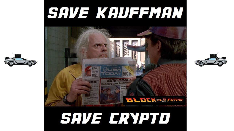 save kauffman save crypto lbry