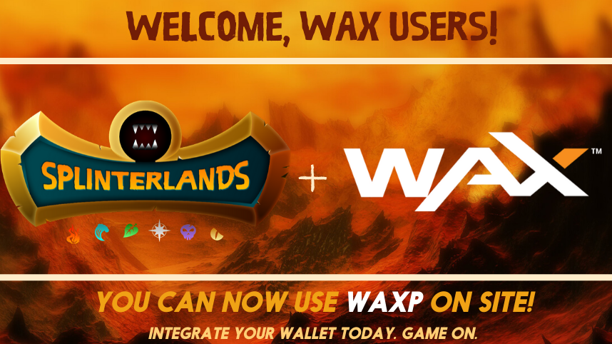 Hit Blockchain Game Splinterlands Announces Addition of WAX Purchases