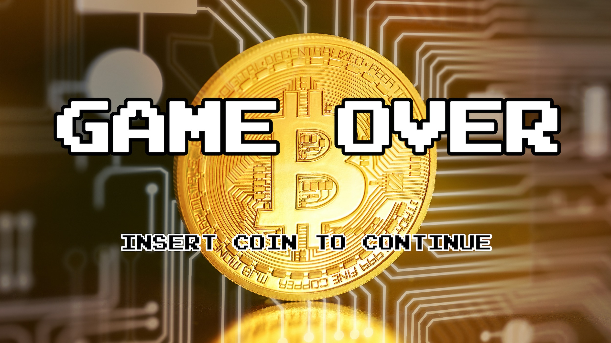 game over for bitcoin