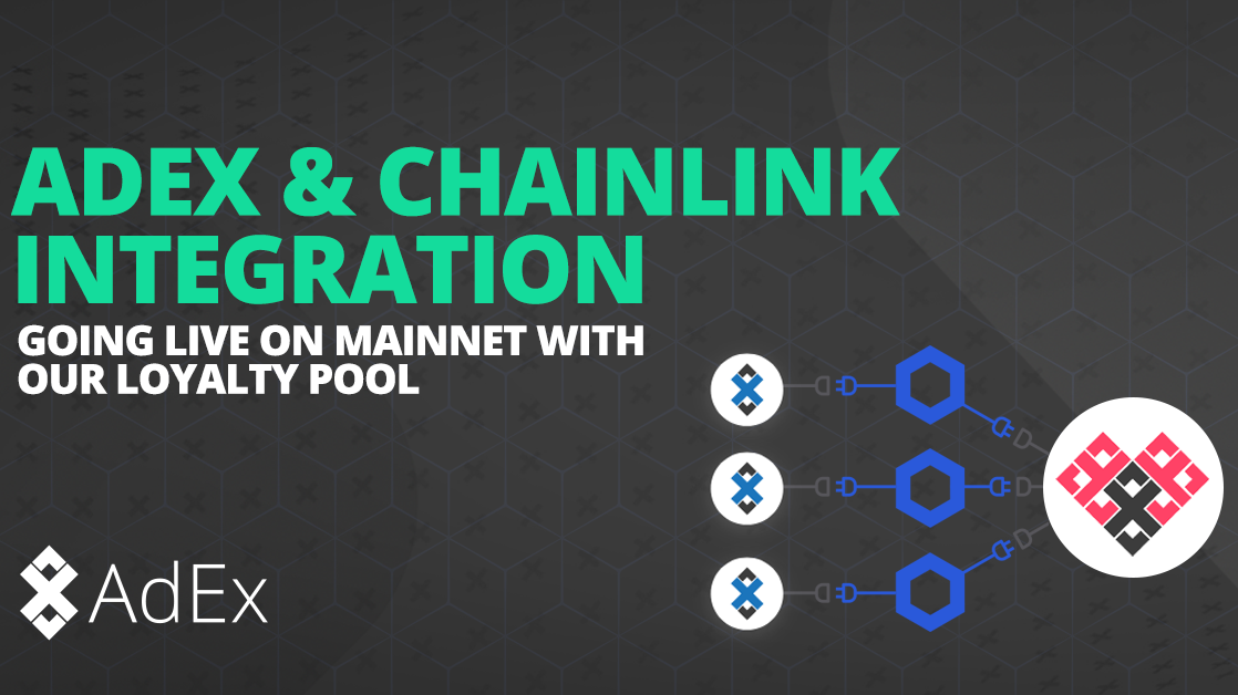 AdEx and Chainlink