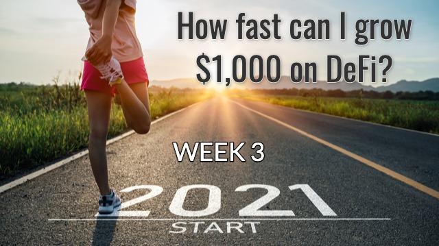 Week 3 - Grow $1,000