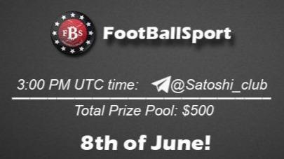 FootBallSport x Satoshi Club AMA Recap from 8th of June