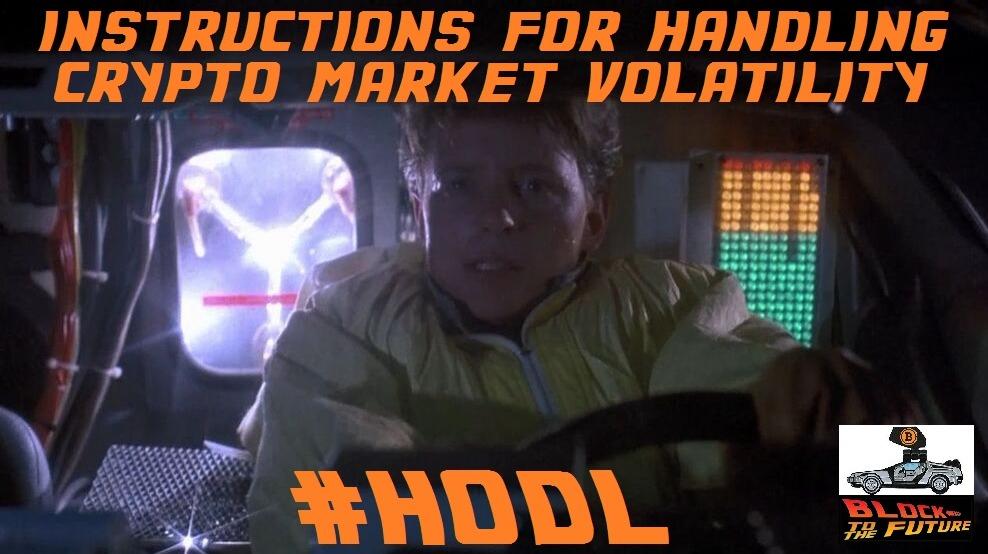 instructions for handling crypto market volatility