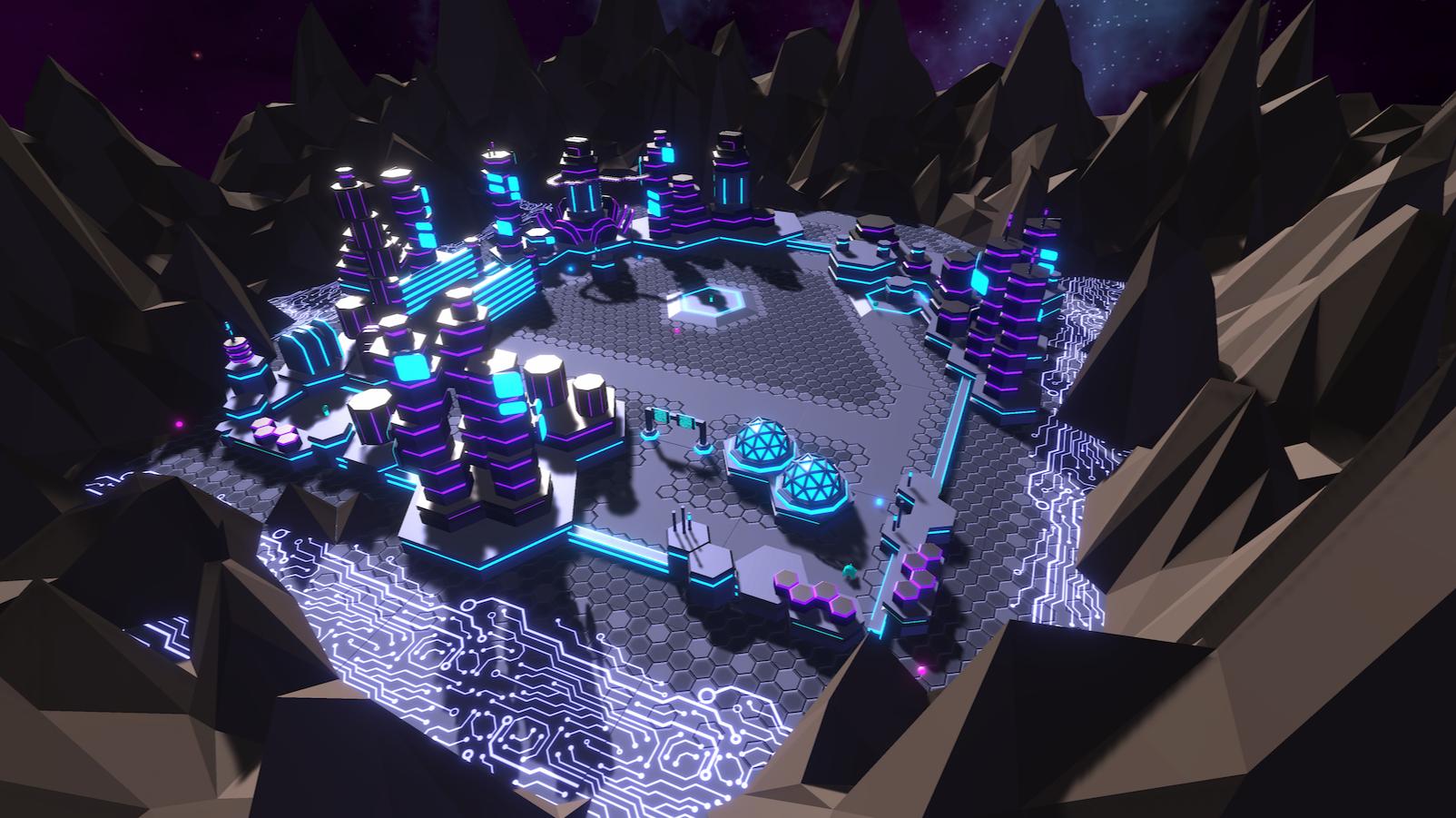 Project TankBlazeAR hexagon grid textures