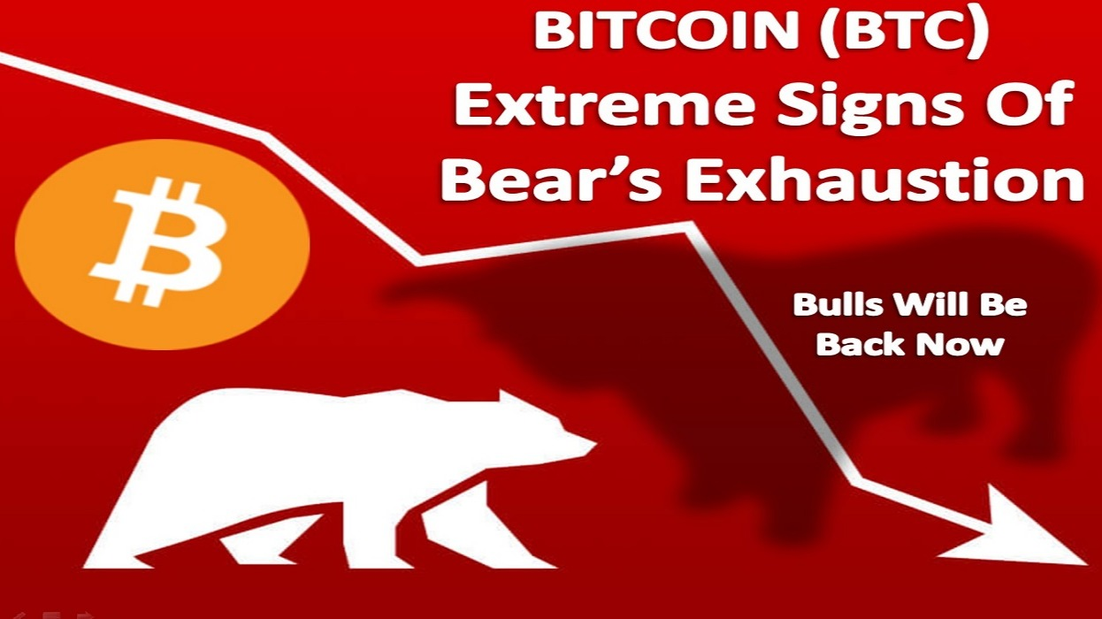 BITCOIN (BTC) | Extreme Signs Of Bear's Exhaustion