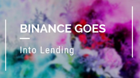 Lending Through Binance A Smart Move?