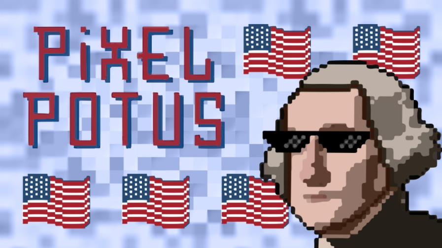 PixelPotus Combines Deflation With Highly-Collectible And Upgradeable POTUS NFTs